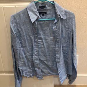 100% linen blouse.